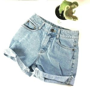 VTG 90s Urban Blues S Mom Jeans High Rise Shorts